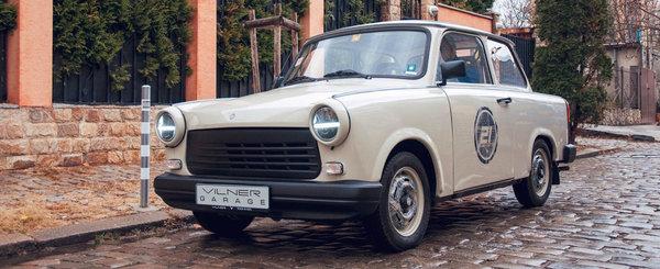 De pe strazile Bulgariei vine Trabantul cu transplant de motor si interior din piele. POZE REALE