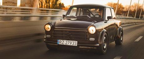 De pe strazile Poloniei vine Trabantul care accelereaza mai repede decat un BMW M