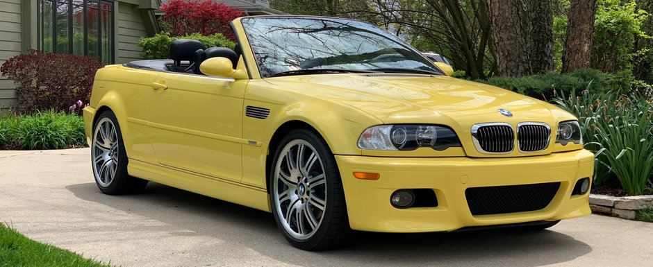 De pe vremea cand BMW facea cele mai frumoase masini de pe strazi: acest M3 din 2003 are doar 44.000 KM la bord si e de vanzare