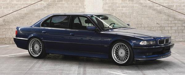 De pe vremea cand BMW Seria 7 impunea respect: acest Alpina E38 are motor V12 de 6.0 litri si e de vanzare