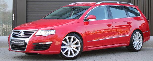 De pe vremea cand masinile VW inca aveau motoare VR6: Un Passat R36 cu 300 CP si kilometri putini e de vanzare in Olanda