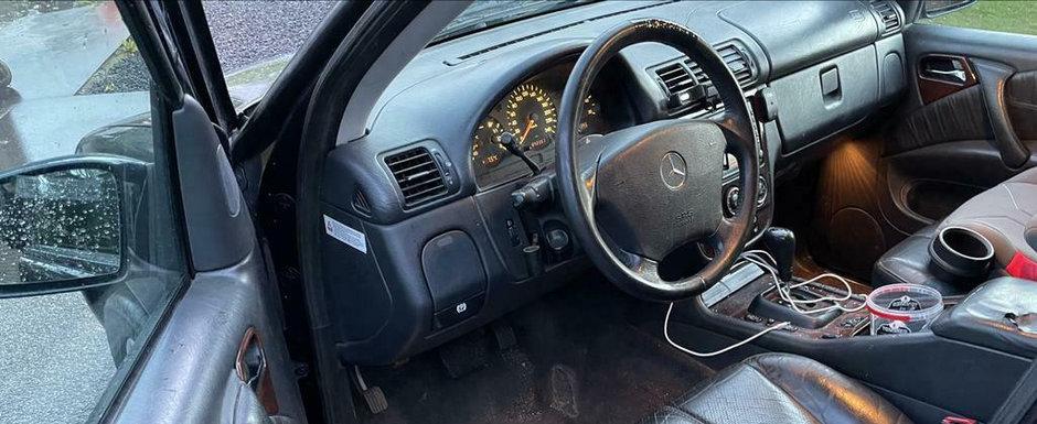 De pe vremea cand nemtii inca faceau masini: Mercedes-ul ASTA are peste 800 de mii de KM la bord!