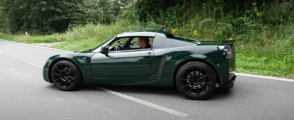 De pe vremea cand Opel se batea cu Porsche. Test de acceleratie cu singurul model cu motor central al nemtilor