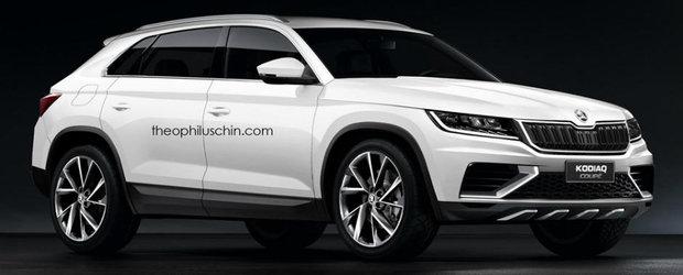 De toate pentru toti. Cehii de la Skoda pregatesc un nou SUV Coupe bazat pe Kodiaq