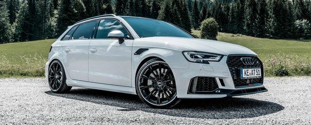 De trei modificari a fost nevoie pentru a fi la fel de rapid ca un Lamborghini. Cati cai are acest Audi RS3