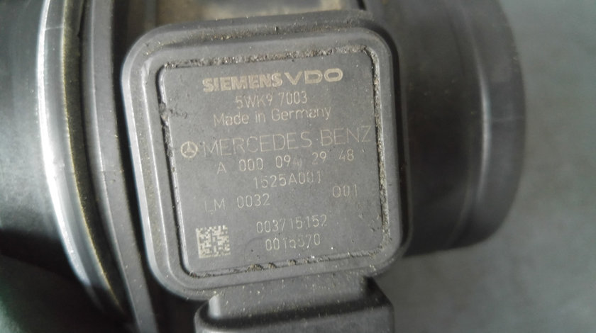 Debitmetru aer 2.0 cdi mercedes a-class w169 a0000942948