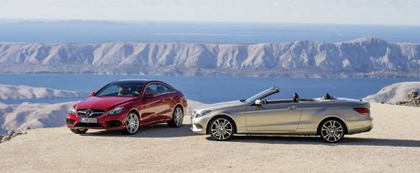 Debut oficial pentru noile Mercedes E-Class Coupe si Cabriolet