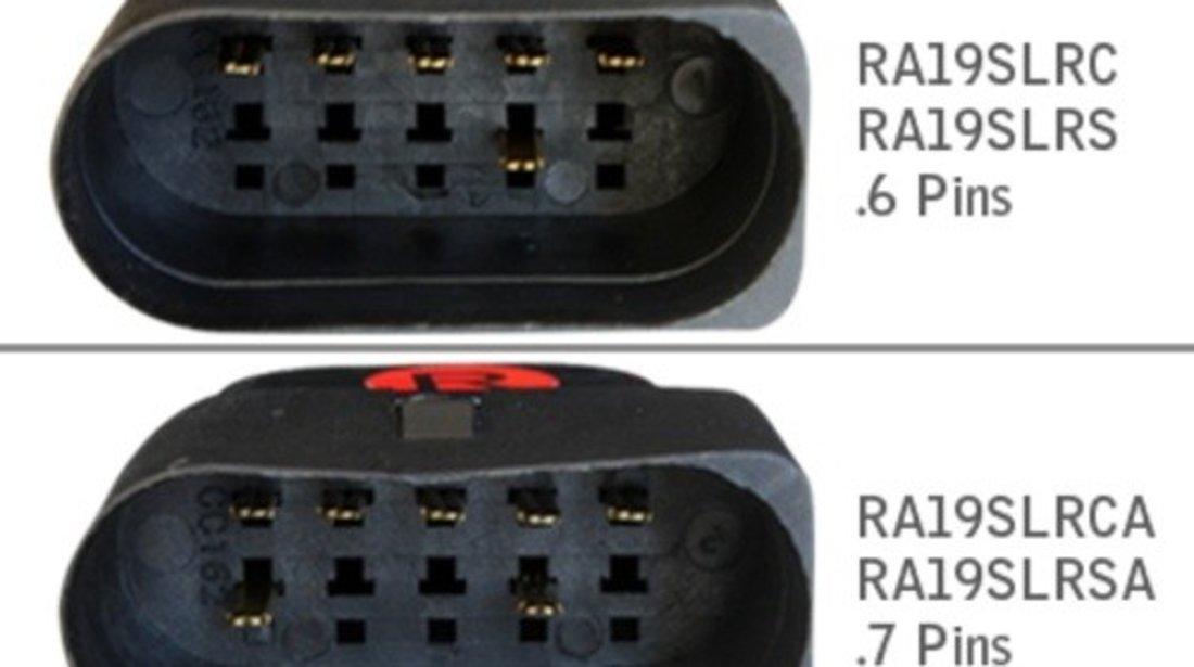 DECTANE Stopuri LED compatibil cu AUDI A6 4F SEDAN Rosu / Clar