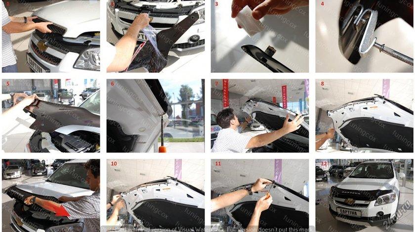 Deflector capota mitsubishi outlander 2 xl 2010-2014
