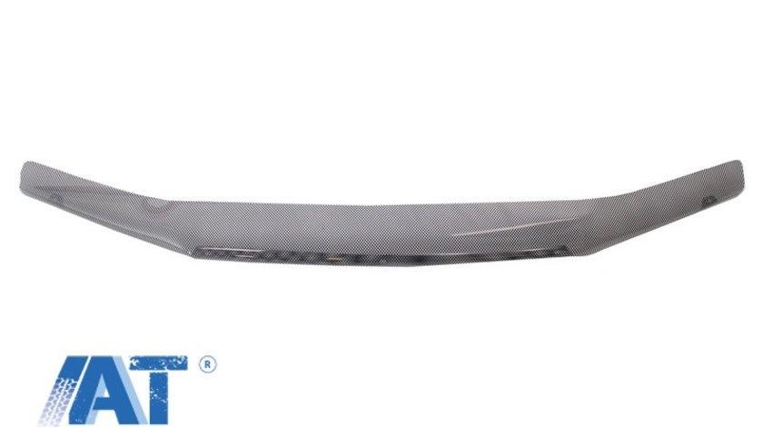 Deflector Protectie Capota Ornament compatibil cu NISSAN Terrano III (2013-up) Dacia Duster (2009-up) Carbon Look