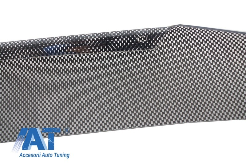 Deflector Protectie Capota Ornament compatibil cu NISSAN Terrano III (2013-up) Dacia Duster (2009-up) Carbon Look