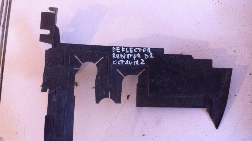 Deflector radiator skoda octavia 2 cod: 1z0121284b