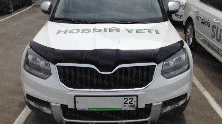 Deflector skoda Yeti 2012-2017 facelift