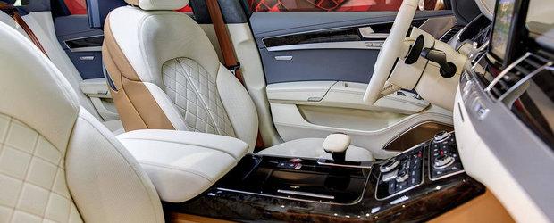 Deliciu pentru privirea ta: Un Audi S8 cu o configuratie unica