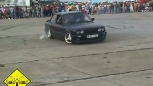 Demonstratii auto 14.08.2005 International Tuning & Sound Constanta Cerculete, Burnout, Drift