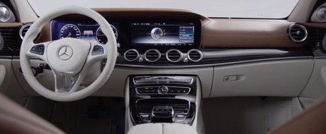 Descopera in detaliu interiorul noului Mercedes E-Class