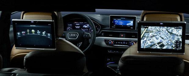 Descopera noul Audi A4 in peste 135 de imagini interioare, exterioare si tehnice