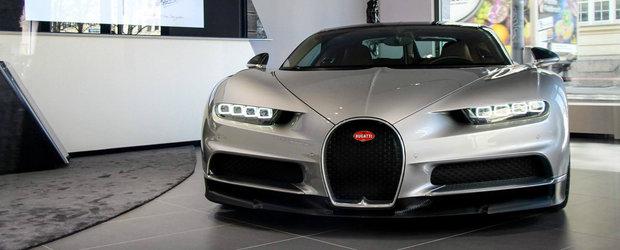 Descopera noul Bugatti Chiron din absolut fiecare unghi si coltisor, de la exterior spre interior
