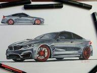 Desen: BMW M4