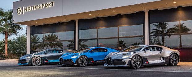 Desfasurare de forte in stilul Bugatti. Asa arata 15 milioane de euro si 4500 CP intr-o poza