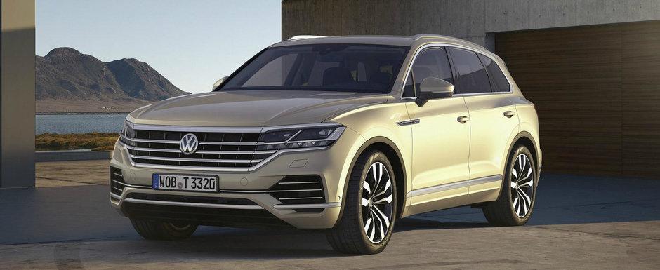 Design-ul noului TOUAREG i-a cucerit. SUV-ul german s-a clasat in fata rivalilor de la AUDI si BMW
