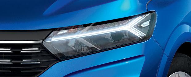 Detaliile care tranforma noile Dacia Logan si Sandero intr-o masina de nerefuzat