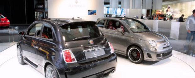 Detroit 2010: Fiat 500 BEV - un mini electric