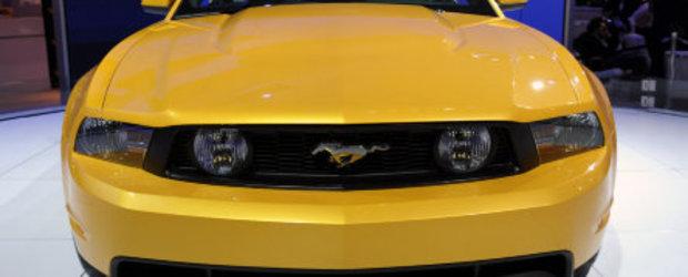 Detroit 2010: Mustang-ul GT 5.0 este aici!