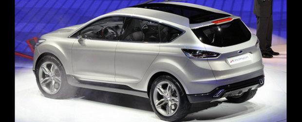 Detroit 2011: Ford Vertrek Concept ne aduce mai aproape de viitoarele Kuga/Escape