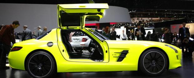 Detroit 2011: Mercedes SLS AMG E-Cell este definitia electricitatii savuroase!