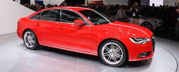 Detroit 2011: Noul Audi A6 arata delicios in al sau rosu demonic!