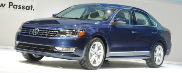 Detroit 2011: Volkswagen Passat soseste in versiunea americana