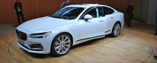 Detroit 2016: Aparitia noului Volvo S90 ne face sa uitam complet de BMW Seria 5