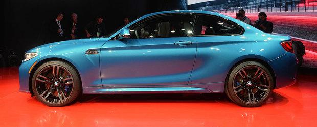 Detroit 2016: BMW M2 exemplifica zicala 'esentele tari se tin in sticlute mici'