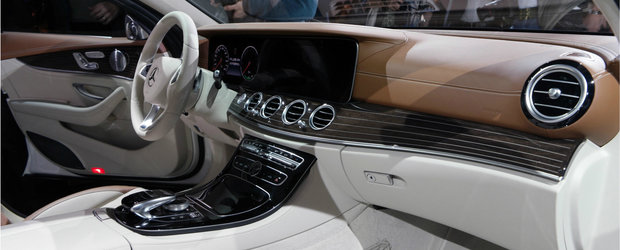 Detroit 2016: Mercedes E-Class, masina care da tonul in materie de tehnologie