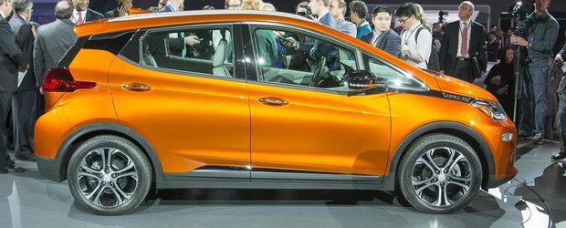 Detroit 2016: Noul Chevrolet Bolt EV ofera propulsie electrica pentru mase