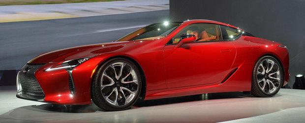 Detroit 2016: Noul Lexus LC 500 aduce a concept, dar se vinde in serie