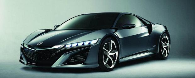 Detroit Motor Show 2013: Acura a lansat NSX Concept II