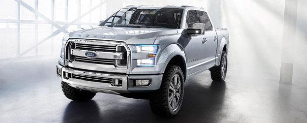Detroit Motor Show 2013: Ford a prezentat conceptul Atlas