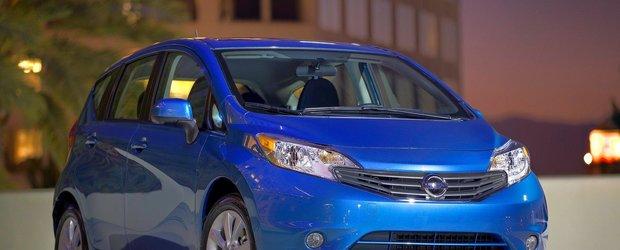Detroit Motor Show 2013: Nissan Versa Note a fost prezentat oficial
