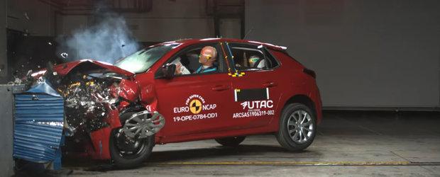 Dezamagire la testele de siguranta EURO NCAP. Punctajul primit de noua generatie Opel Corsa