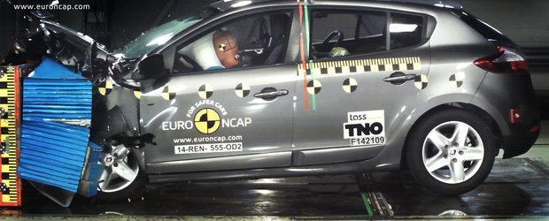 Dezamagirea vine din Franta: 3 stele de siguranta pentru Renault Megane