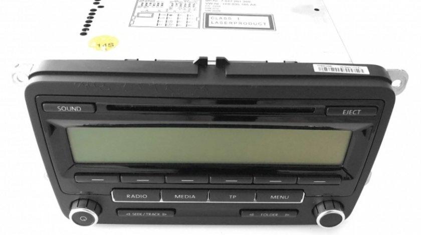 Dezmembrari Radio CD Oe Volkswagen Passat B6 2005-2010 1K0035186AA