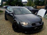 Dezmembrez Audi A3 8P 2.0TDI BKD 140CP 6+1 manuala an 2005