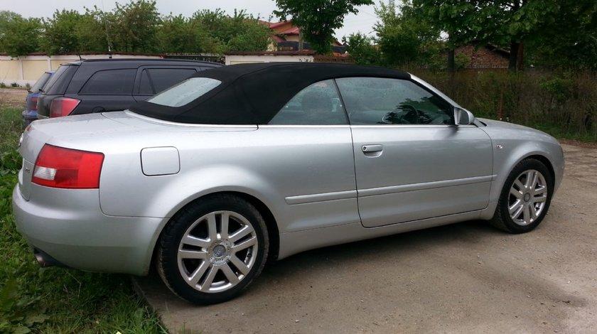 Dezmembrez Audi A4 B6 Cabrio 2004 2.4i