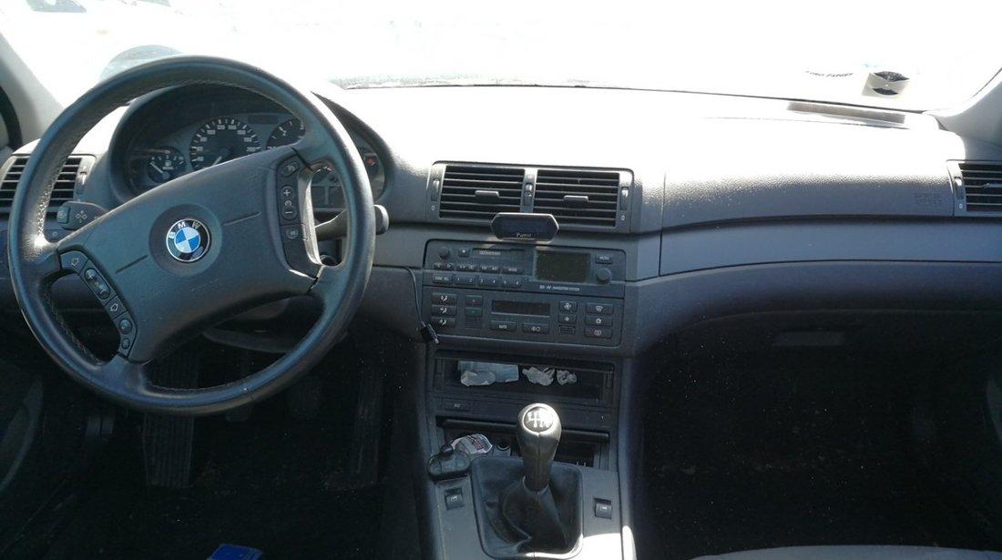 Dezmembrez BMW 320d E46 an 2001 - 2002 - 2003 - 2004 - 2005 motor 2.0d tip 204D1 136cp , 204D4 150cp