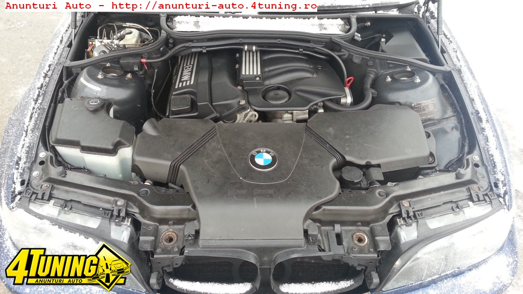 Dezmembrez Bmw E46 Coupe 318Ci motor 2 0i cod N46B20 143cp an 2002 2005
