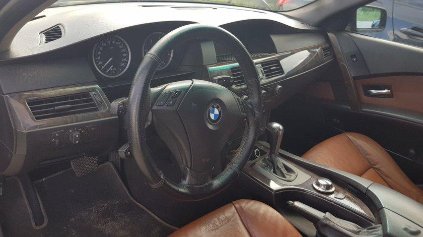 Dezmembrez BMW E60 525d 177cp M57 europa volan stanga BLACK SAPPHIRE