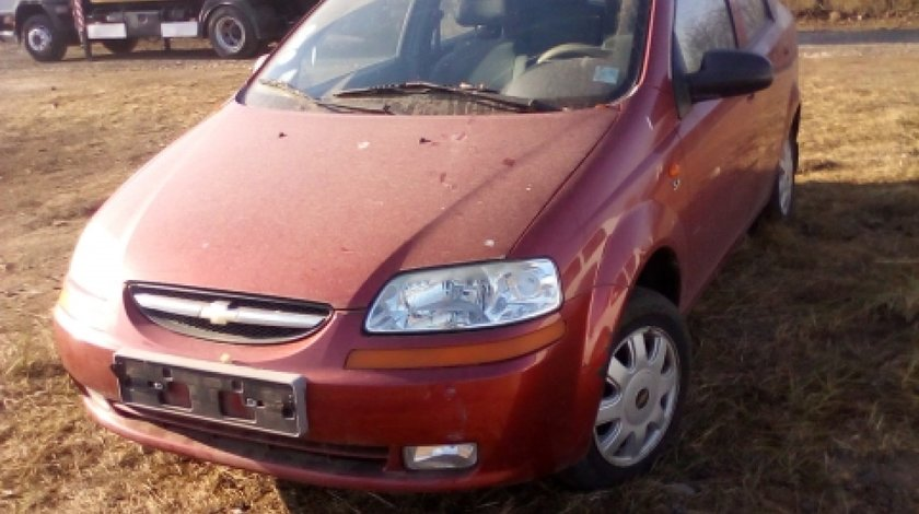 Dezmembrez Chevrolet Kalos, an 2005, motorizare 1.4