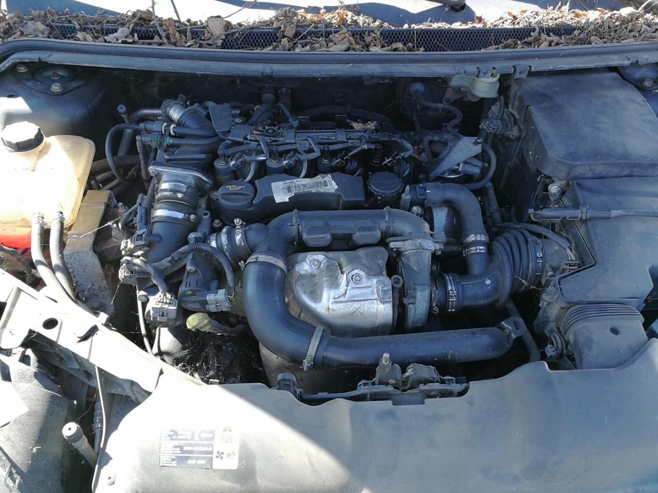 Dezmembrez Ford Focus 2 1.6tdci an 2007 tip motor G8DB